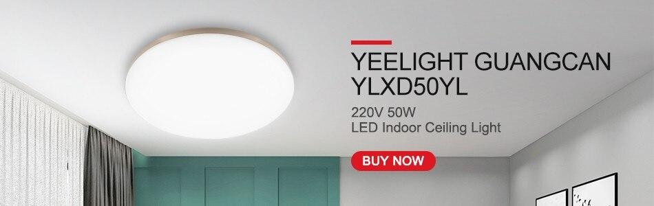 Yeelight Guangcan YLXD50YL 220 V 50 W Plafonnier DEL APP Contrôle prend en charge