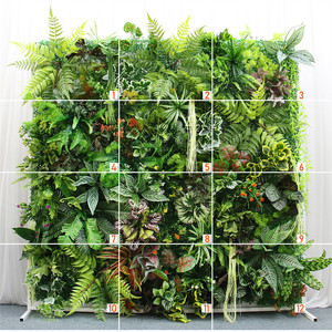 Image 3 - Self Made Fake Grass Carpet Persian/ Begonia Leaves Diy Simulation Grass Window/Hotel/Store Backdrop/Artificial Grass Wall Decor