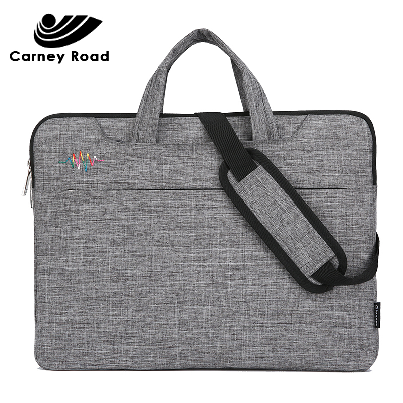 Business Men Briefcase 13 14 15.6 Inch Laptop Bag Waterproof Notebook Bag For Macbook Air Pro Women Casual Handbag