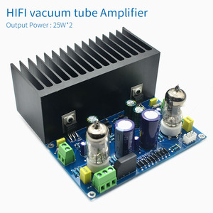 Image 2 - UNISIAN HIF vacuum tube amplifier board 25W  6J1+LM1875 electronic valve amplifiers ac18v DIY kit  Finished prodcut for preamp