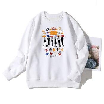 Friends Tv Show Harajuku Printed Spring Warm Hoodies Women Ullzang 90s Best Friends Sweatshirt Streetwear American Apparel фото