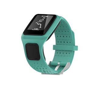 Image 2 - Bracelet pour TomTom 1 multi sport GPS HRM CSS AM Cardio coureur montre Silicone souple Bracelet Bracelet