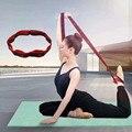 Эластичный ремень для йоги, гибкие петли для пилатеса, тренировок, фитнеса, домашних упражнений, тонкое тело, легкий и прочный