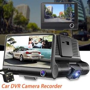 Dash Cam 4.0 Inch 3 Camera Dua