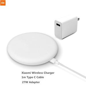 Image 1 - Chargeur sans fil Xiaomi 100% 20W charge rapide sans fil flash/ventilateur silencieux indépendant/avec norme de charge Qi