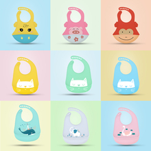 Special Offer Baby Bib Oil-proof Lunch Baby Bib Food Grade Silicone Drool bib Soft And Comfortable Saliva Towel Adjustable