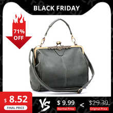REALER women messenger bags small shoulder crossbody bag high quality tote bag lady Chain Messenger bags clutch leather handbags - DISCOUNT ITEM  49% OFF All Category