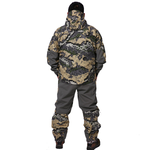 Image 2 - 2019 Hunting suiCamouflage Outdoor Jacket Men Waterproof Hunting Clothes Windbreaker Jacket Coat The same paragraph sitka