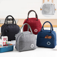 Portable Lunch Bags Thermal Insulated Oxford Lunch Box Cooler Tote Handbag Bento Pouch Dinner Container School Food Storage Bags food container picnic outdoor handbag cooler bento pouch camping insulated oxford cloth tote portable lunch bag carrying school