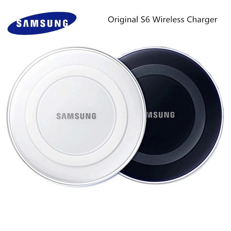 Samsung Galaxy S6 Qi Wireless Charger Adapter Charge Pad 5V/2A For S7 Edge S10e S10 S9 S8 Plus Note 5 8 9 Iphone 8 Plus X XS Mi9
