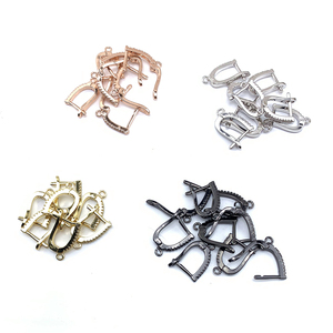 Image 1 - 10Pairs, Fashion Jewelry Accessories, Earring Clasps, 4colors, Can Wholesale