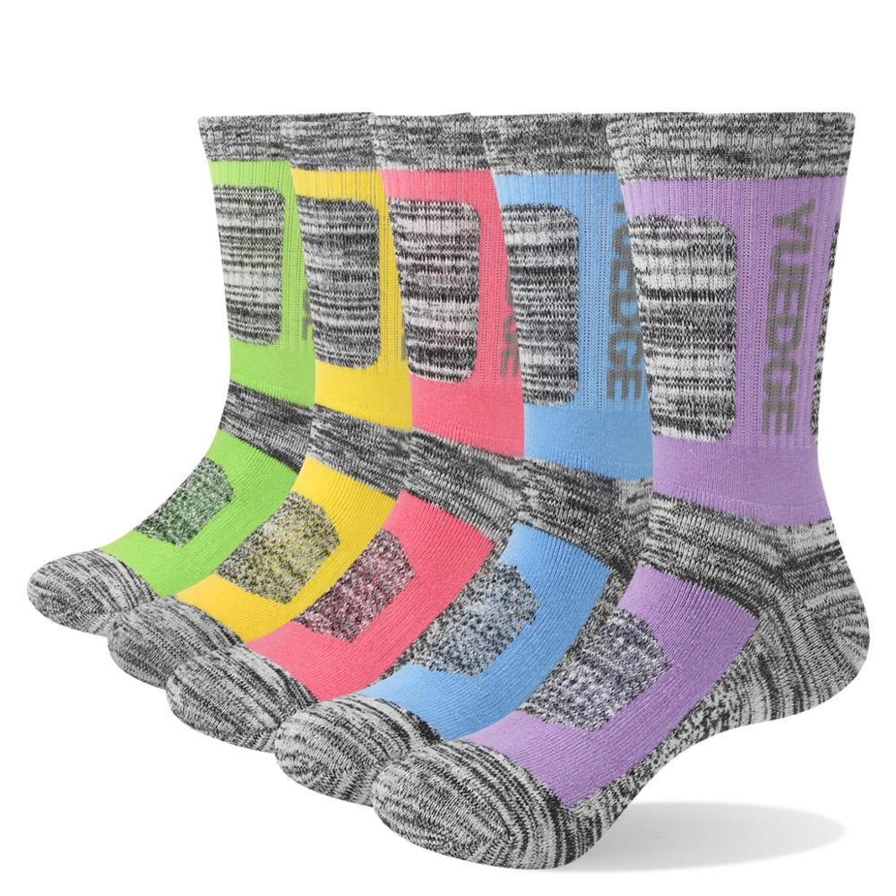 Coolmax Women 3-pack Outdoor Mountaineering Permeability Slightly Thick Socks