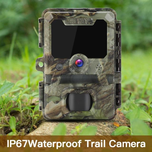 BOBLOV 30MP ghost hunting camera Photo Traps Night Vision Infrared Trail Hunter Camera WildKamera Deer Hunting Camera 1080P 5