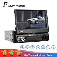 AMPrime Android Car Radio Autoradio 1 Din 7'' Touch Screen Car Multimedia Player GPS Navigation Wifi Auto MP5 Bluetooth USB FM