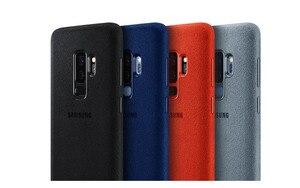 Image 2 - オリジナルサムスンアルカンタラファッション電話ケースカバーfundas coque 4サムスンギャラクシーS9 G9600 S9 + S9プラスg9650