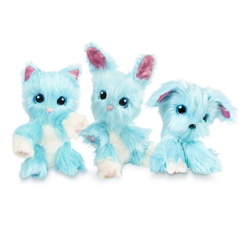 23x20x7CM Scruff a Luvse Plush Toy Bath Dog Cat Rabbit Doll Russian Child Gift 3colors Plush Speelgoede Stuffed Animals Stitche in Movies TV from Toys Hobbies