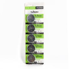 5 unidades/pacote cr2450 baterias 3v relógio botão baterias de pilha brinquedos calculadora controles remotos bateria de lítio acessórios