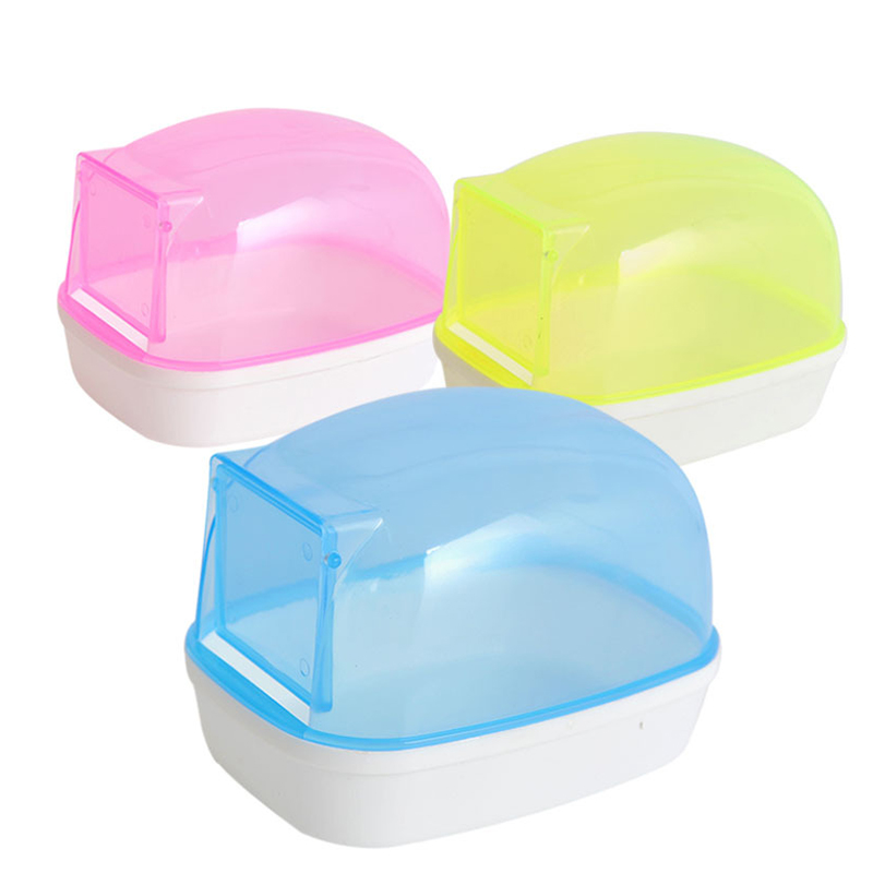 Chinchilla Pet Dust Sand Bathroom Shower Room Toilet Pet Hamster Bath House Pool