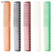 4 צבעים מקצועי שיער קומבס בארבר שיער חיתוך שיער מברשת אנטי סטטי סבך Pro סלון טיפוח שיער סטיילינג כלי