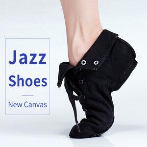 Image 4 - ใหม่สีดำสำหรับผู้ใหญ่ JAZZ รองเท้าเต้นรำเด็กแจ๊สเต้นรำ BOOT