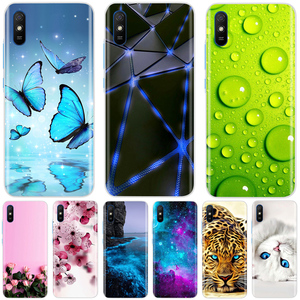 Soft Silicone Case For Xiaomi Redmi 9A Case Soft TPU Fundas Phone Case For Xiaomi Redmi 9A Redmi9A 9 A Case Back Cover Shell