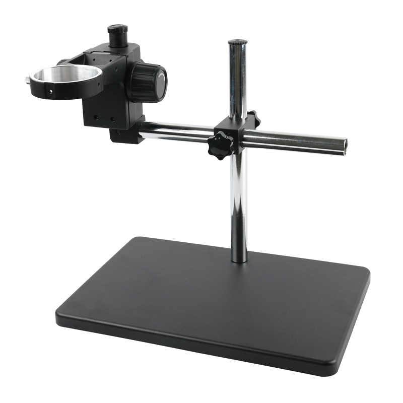 Large Workbench Stereo Arm Table Stand A1 Metal Focus Arm Head 76mm Ring Holde For Binocular Trinocular Microscope
