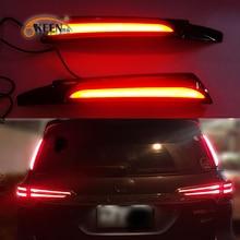 2Pcs For Toyota Fortuner 2015 2016 2017 Led Rear Reflector Driving Taillight Led Brake Lights Rear Bumper Lamp Warning Light