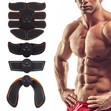 Muscle Trainer Abdominal Simulators Smart EMS Hips Slimming Massage Electric Weight Loss Stickers Fitness Buttock Unisex