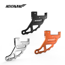 CNC Aluminum Orange Black Silver Motorcycle Rear Brake Disc Guard Protection For KTM XCW XCF-W EXC EXC-F SIX Davs SX SX-F XC D40 new motorcycle cnc aluminum orange rear brake pedal lever for ktm 350 exc f 2012 2015