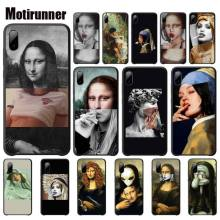 Mona Lisa Phone Case Art Paint Patternluxury Mobile Case For Xiaomi Mi A1 A2 Lite Redmi Note 2 3 4 4x 5 5a 6 Accessories mona lisa phone case art paint pattern cover luxury case for xiaomi mi a1 a2 lite redmi note 2 3 4 4x 5 5a 6 accessories