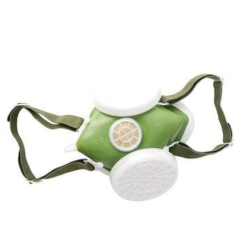 Oddychająca maska ochronna duży zawór i przestrzeń filtra łatwo regulowany pasek filtrowanie małych pyłów mgły 1 zestaw tanie i dobre opinie Pszczelarstwo Kapelusze