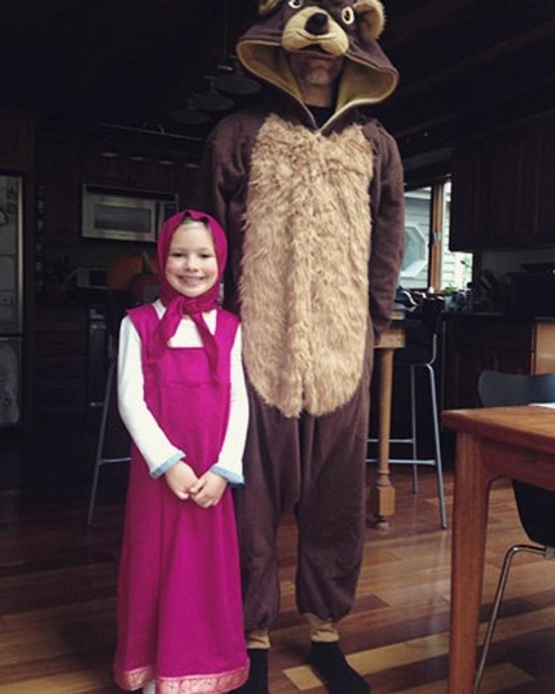 Original MASHA Costume Halloween Costume Dress Up Kids Dresses For Girls