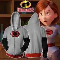 Anime Die Incredibles Violet Parr Hoodies jacke Cosplay kostüm männer frauen 3D Gedruckt zip-up Mr. Incredible Hoodies Sweatshirt