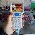 Inglés Super Handheld Rfid NFC copiadora lectora cloner 9 frecuencia + 5 uds 125khz tarjeta + 5 uds 13,56 mhz UID tarjeta intercambiable