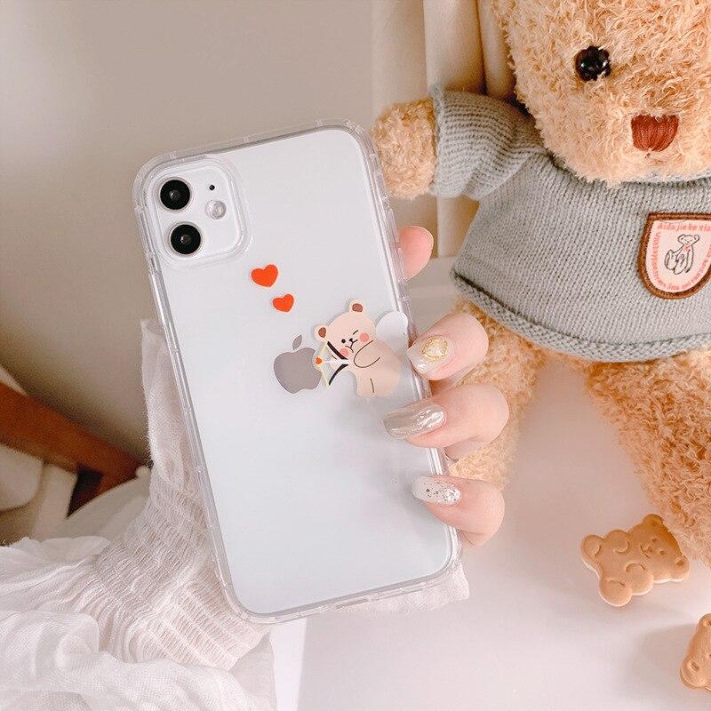 Bonita funda Retro de oso Cupido de tiro con arco para iPhone 11 Pro Max XR X XS Max, funda de silicona para iPhone 7 8 Plus Estante multifunción para zapatos de varios niveles vanzlife, organizador para el hogar, estante de almacenamiento para ropa, estante Simple para el dormitorio, provincia y espacio