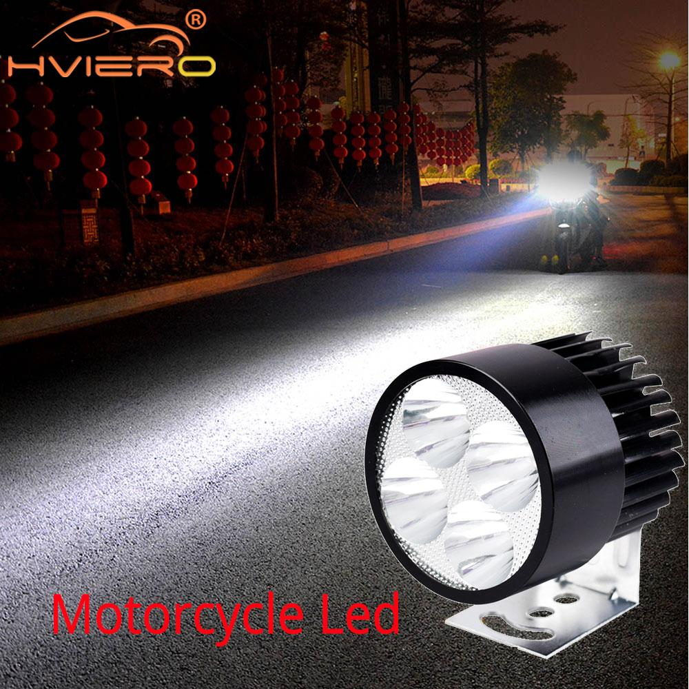 Motorcycle LED Headlight 12V-90V 4/6/9 Auto Led Electric Bicycle Battery Car Motorbike Waterproof Fog Lights External Rogue Lamp