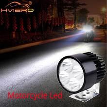 Verlichting Bar Richtingaanwijzer Motor Drl Led Koplamp Werken Licht Auto Motor Fiets Batterij Auto Lamp Mistlamp Externe lamp