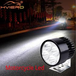 Work Light Bar Turn Signal Motor DRL LED Headlight Working Light Auto Motor Bicycle Battery Car Lamp Fog Light External Lamp