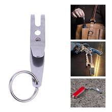Mini Draagbare Pocket Bag Schorsing Clip Edc Outdoor Camping Rvs Multi Gereedschap Multifunctionele Sleutelhanger Clip Houder(China)