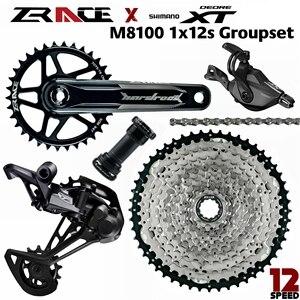 Image 1 - Deore XT M8100, SL M8100 R + RD M8100 SGS + ZRACE HARDROCK Crankset + ZRACE Cassette + ZRACE Chain   1x12s  5kit Groupset