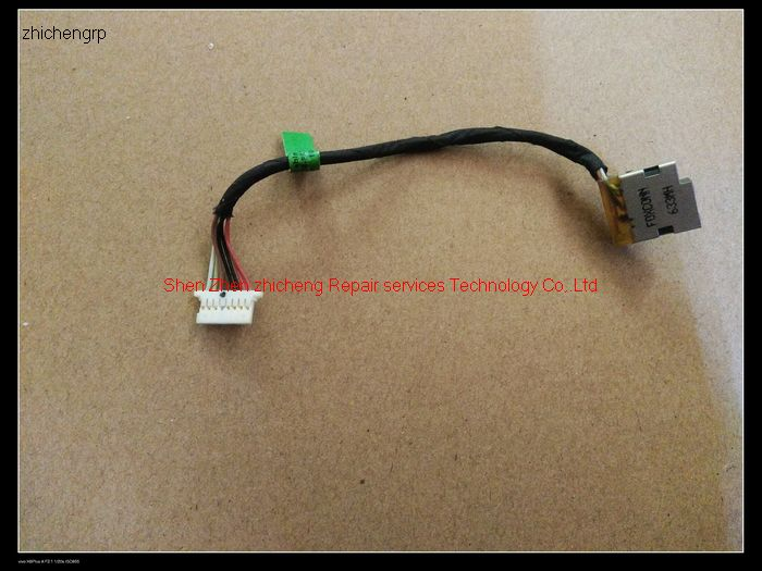 DC power charging jack in cable harness for HP Probook 650 655 G1 727811-SD1 90W
