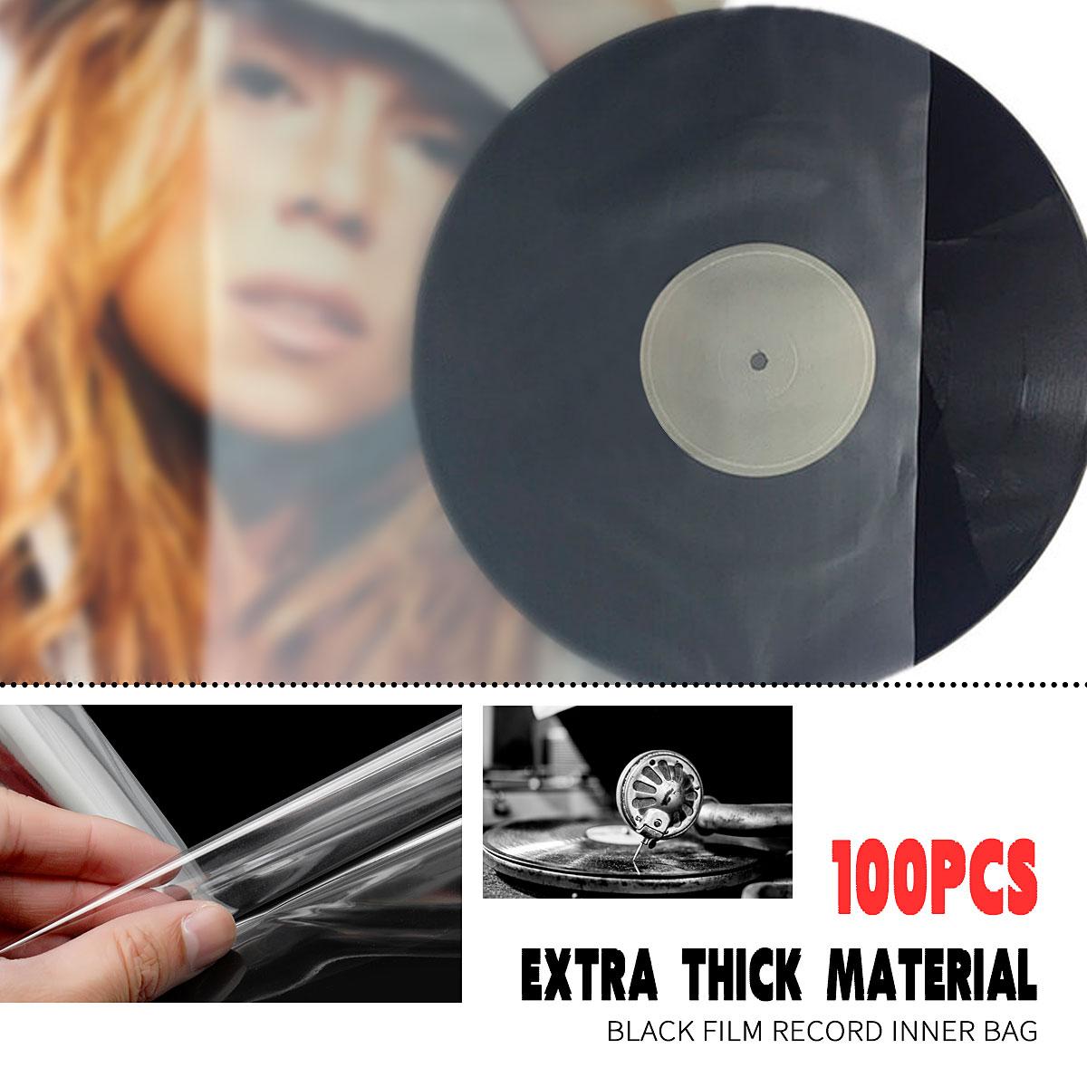 100/50 個 12/10/7 インチ Lp 保護収納インナー/外袋ため lp アナログレコード CD ビニールレコード収納ラックツール -