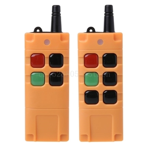 Image 2 - AK G06T Factory Supply High Grade Remote Control 315/433MHZ Wireless Industrial Crane Truck Remote Controller 4/6 Button Keys