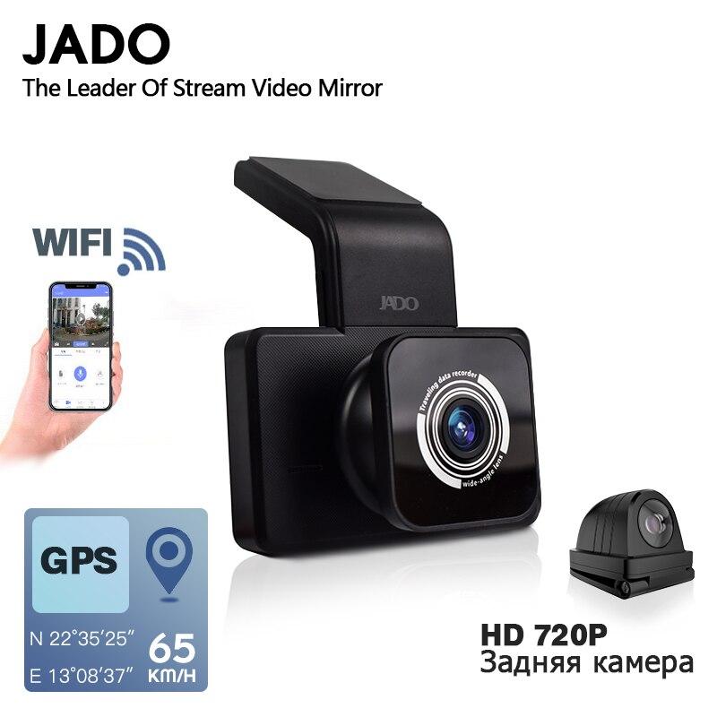 JADO Camera Dashcam Parking-Monitor Coordinates Car Dvr WIFI Speed-N Night-Vision 1080P