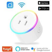 10a usb wifi умная вилка розетка ночной Светильник Тип b США