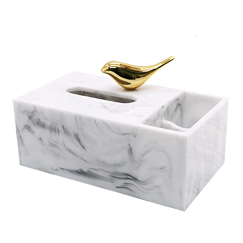 Thai Creative Solid Wood Paper Box Living Room Coffee Table