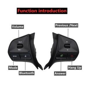 Image 3 - כפתור שליטת הגה באיכות גבוהה מתג אודיו ערוץ וכפתור שליטת bluetooth עבור KIA K2 ריו 2012 2014