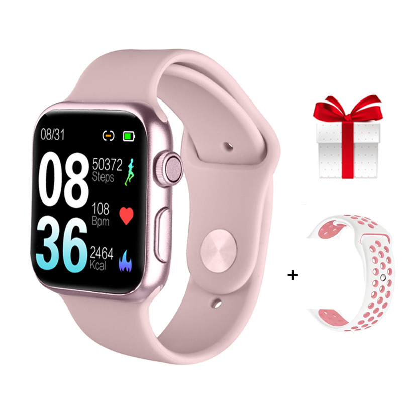 38mm Smartwatch Women PK IWO 11 Pro IWO 12 Pro Smart Watch Waterproof IP68 Heart Rate Blood Pressure Monitor For Iphone Android image