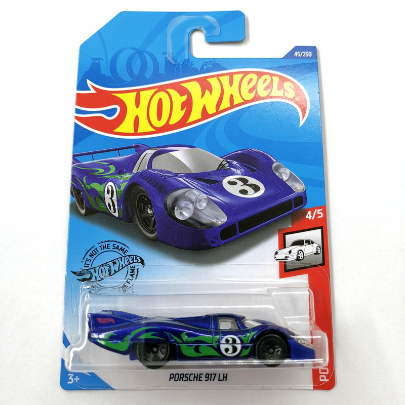 2020-45 Hot Wheels 1:64 Car  PORSCHE 917 LH Collector Edition Metal Diecast Model Cars Kids Toys Gift