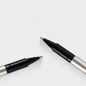 Image 4 - 12 sztuk Mitsubishi uni ball grzywny Deluxe UB 177 0.7mm Gen Ink Pen pióro kulkowe wodoodporny czarny/niebieski/czerwony kolor atramentu